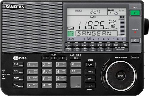 Best Shortwave Radio - Sangean ATS-909X BK