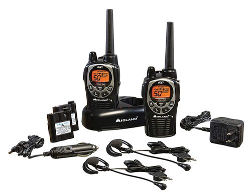 Midland GXT1000VP4 Review - Full Pack Contents