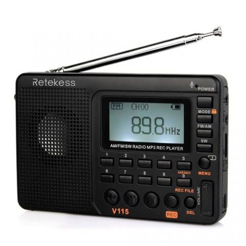 Retekess V115 Portable AM FM Radio