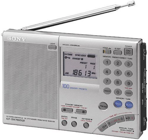 Sony ICF-SW7600GR Shortwave Radio