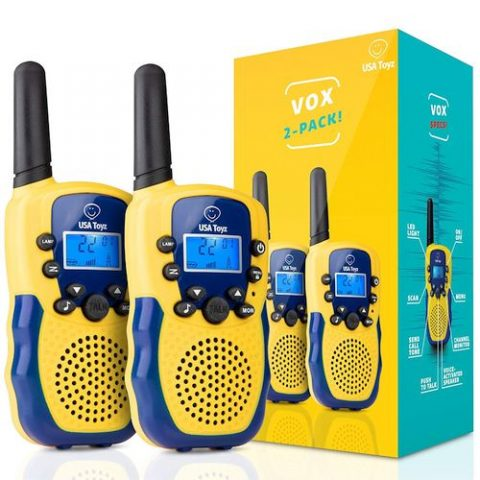 Vox Box Kids Walkie Talkies